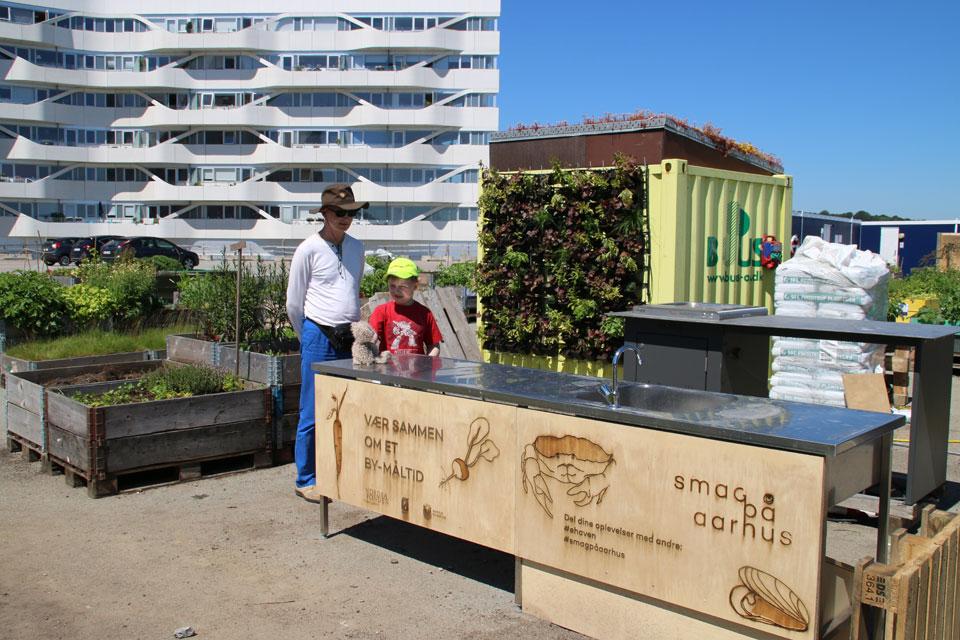Урбанистический сад Орхус