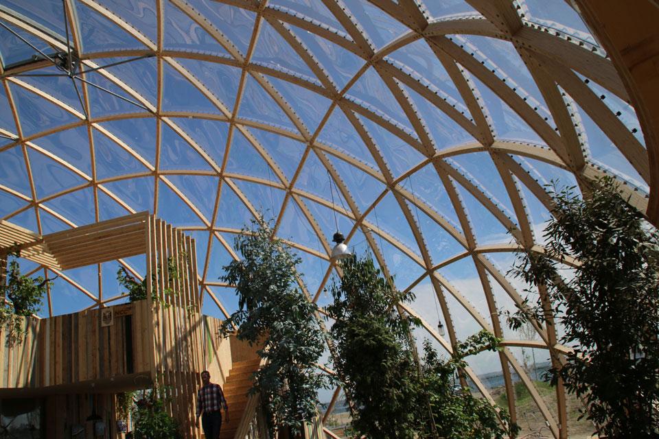 Купол видения в Орхусе, Дания