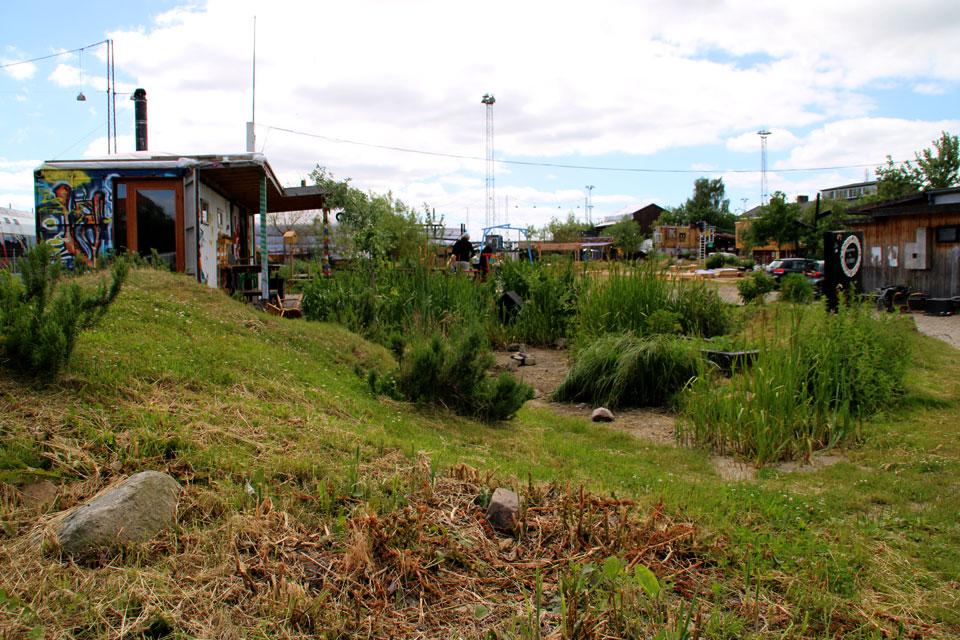 Новый экспериментальный парк в центре города