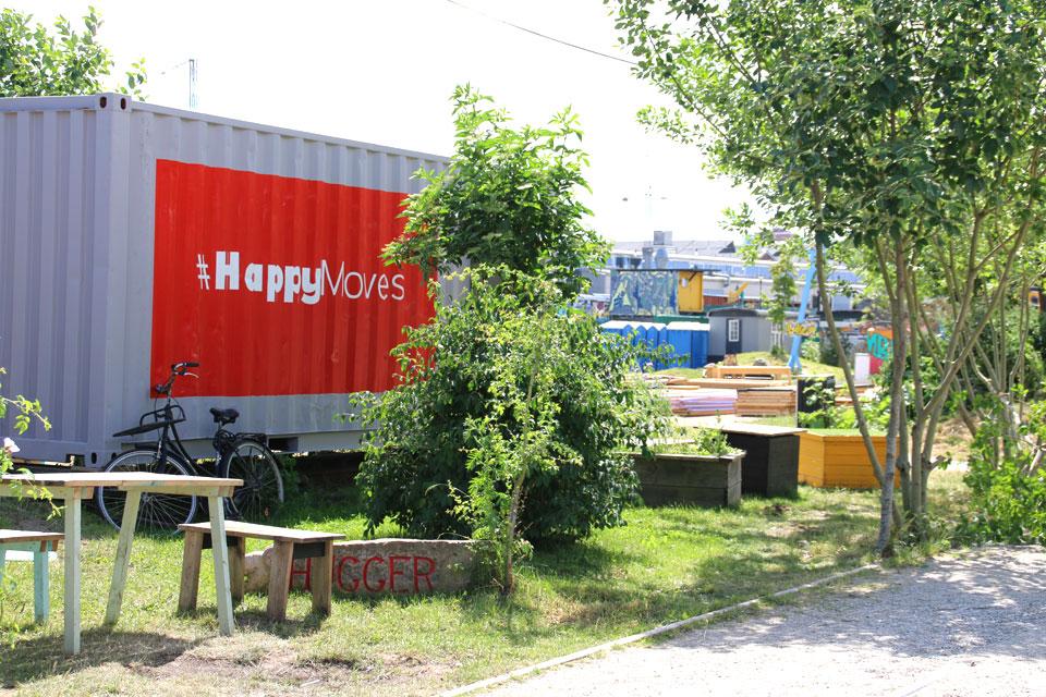 Надпись на контейнере