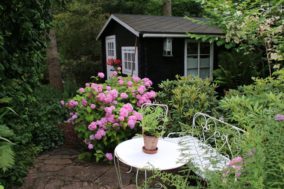 деревянный шведский домик