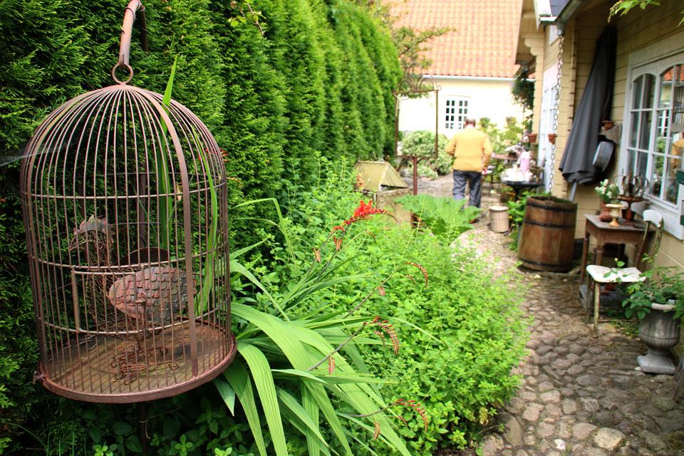 Особую роль в саду Ренессанс играют малые архитектурные формы