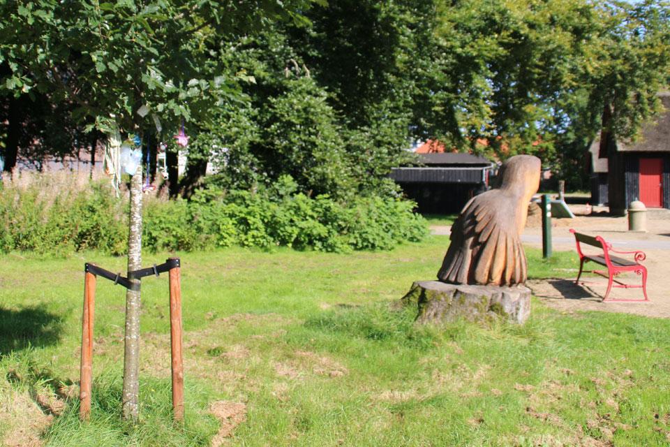 Деревососокв Дании, в г. Хернинг / Herning