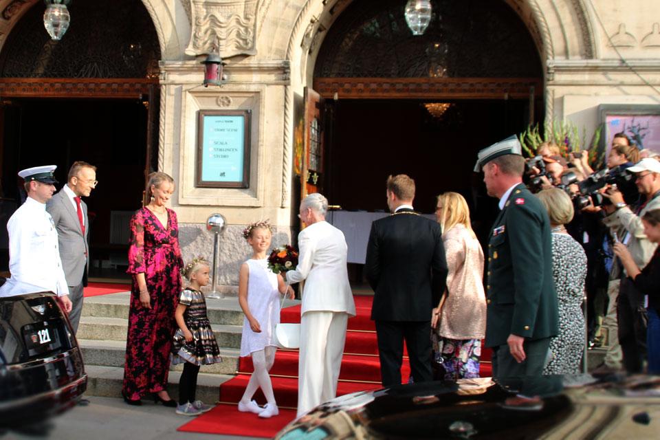 Королева Маргрета II приехала на церемонию открытия фестиваля Праздничная неделя Орхус