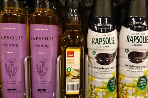 Нерафинированное масло рапса