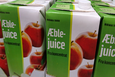 Восстановленный, осветленный яблочный сок