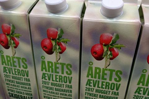 Свежевыжатый яблочный сок из яблок частных садов