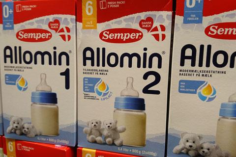 Масло рапса в детском питании Allomin
