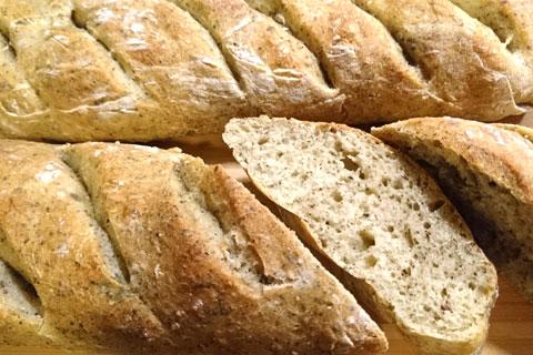 Хлеб с конопляной мукой