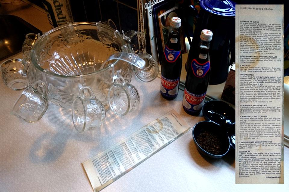 Глогг - скандинавский рождественский напиток