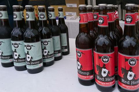 Конопляное пиво Marsk Stig Møllerups Red Hemp Black Hemp