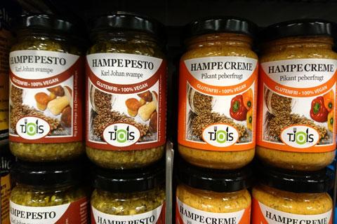 Продукты питания из конопли - соусы
