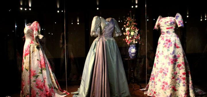 Цветочный гардероб королевы Маргрете II dronning garderobe den gamle by www.florapassionis.com