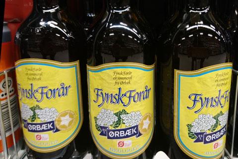 Бузина в продуктах питания Дании - Пиво с цветками бузины