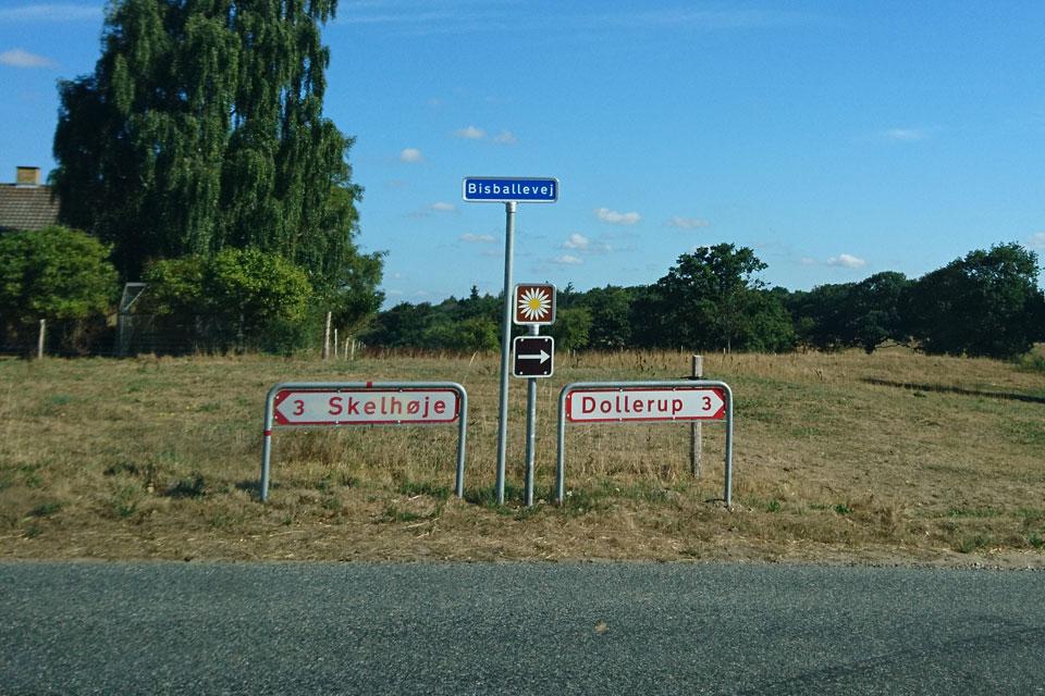 Дороги маргариток в Дании