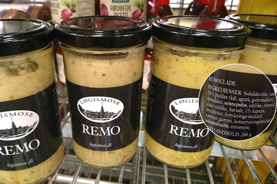 Каперсы добавляются в датский соус remolade