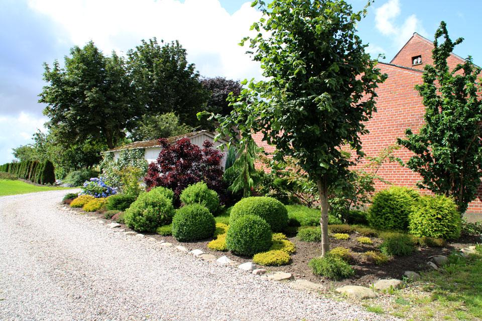Сад многолетних цветов Харлев. Открытые сады Дания
