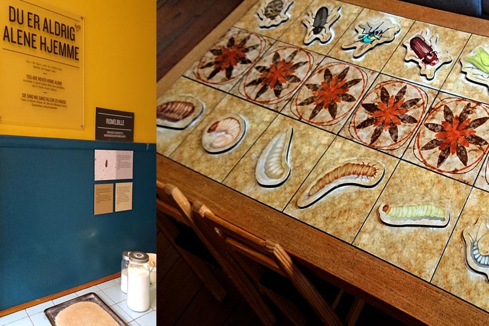 """Экспозиция """"насекомые в доме"""" в музее Старый Город / Den Gamle By"""