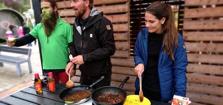 Продукты питания из насекомых в Дании insekter food danfosuniverse-9sept17 www.florapassionis.com