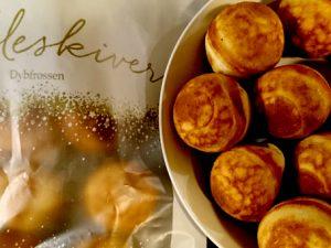 Датские яблочные пончики Эблескивер