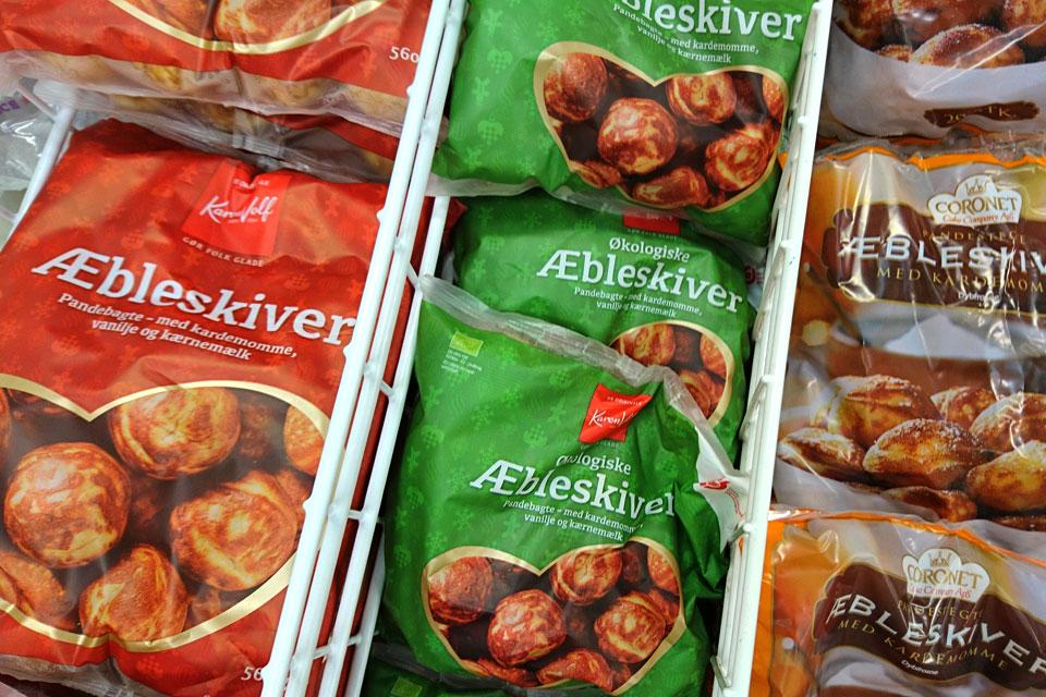 Датские яблочные пончики без яблок, которые продаются в замороженном виде