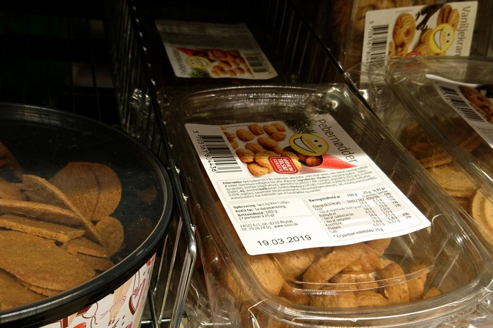Печенье, в основе которого находится заменитель сахара