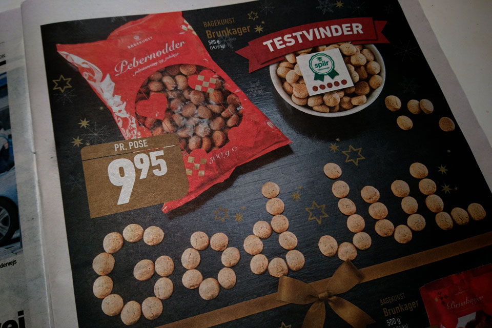 Перечные орешки - датское рождественское печенье