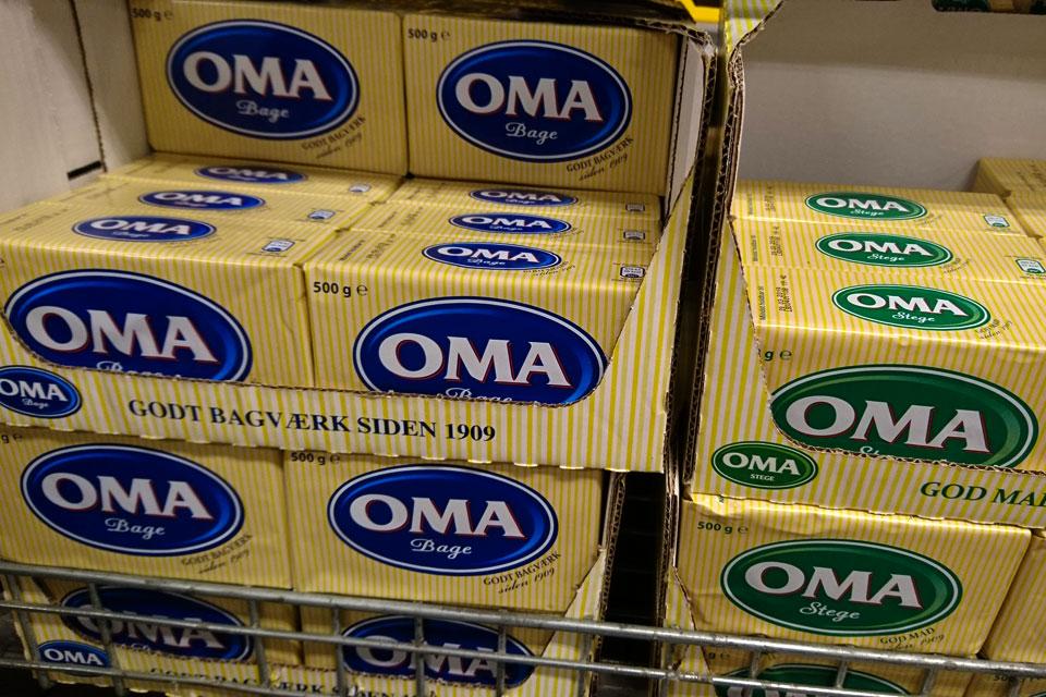 Маргарин марки OMA