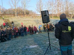 Акция в поддержку Общества Охраны Природы Дании