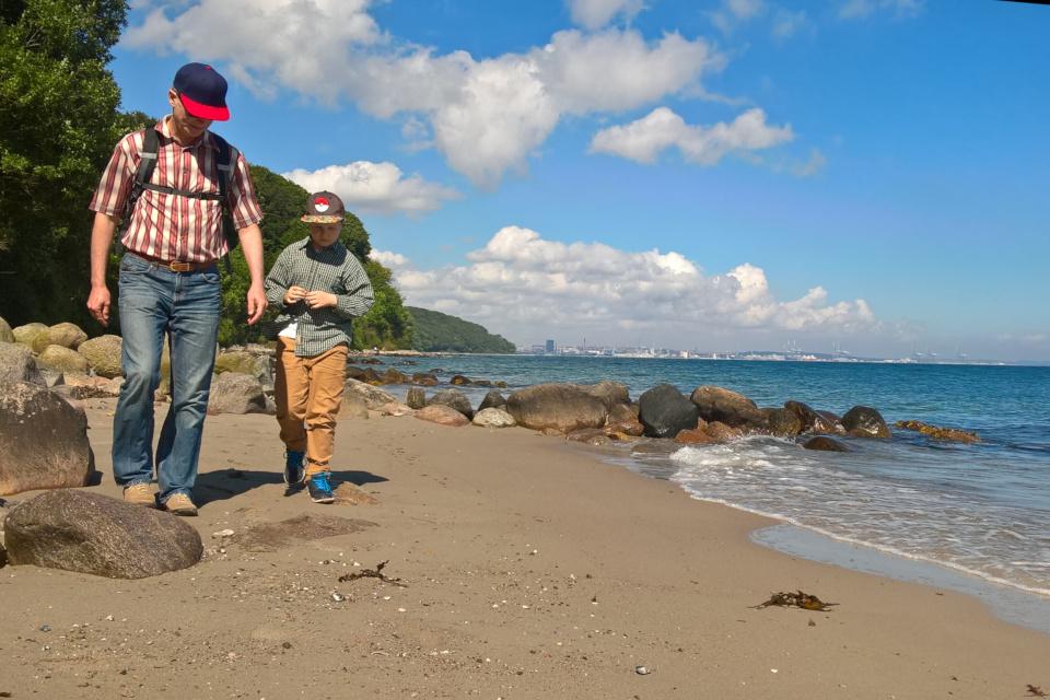 Гуляем по берегу моря