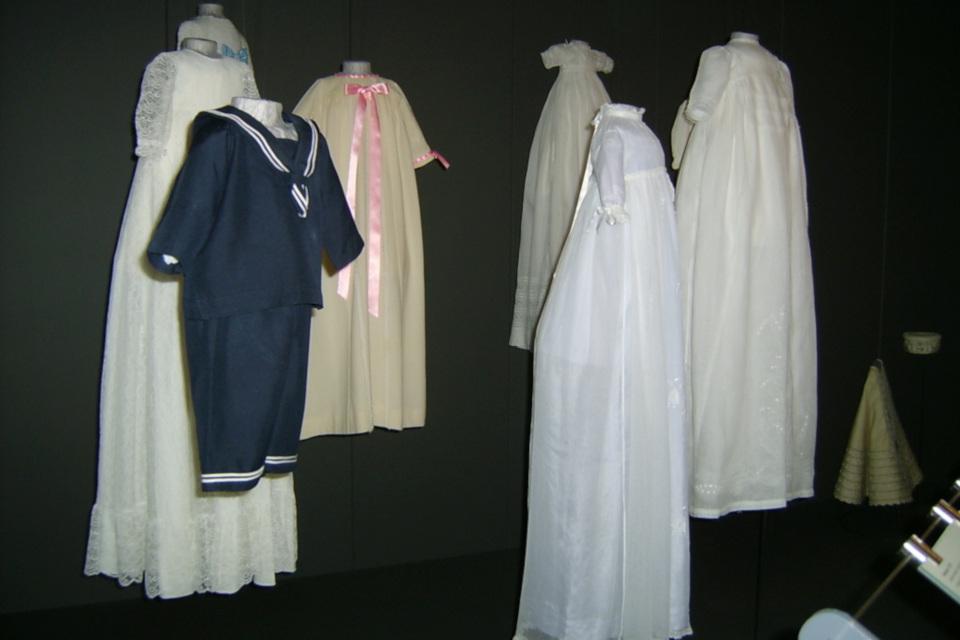 Выставка крестильных платьев королевской семьи Дании