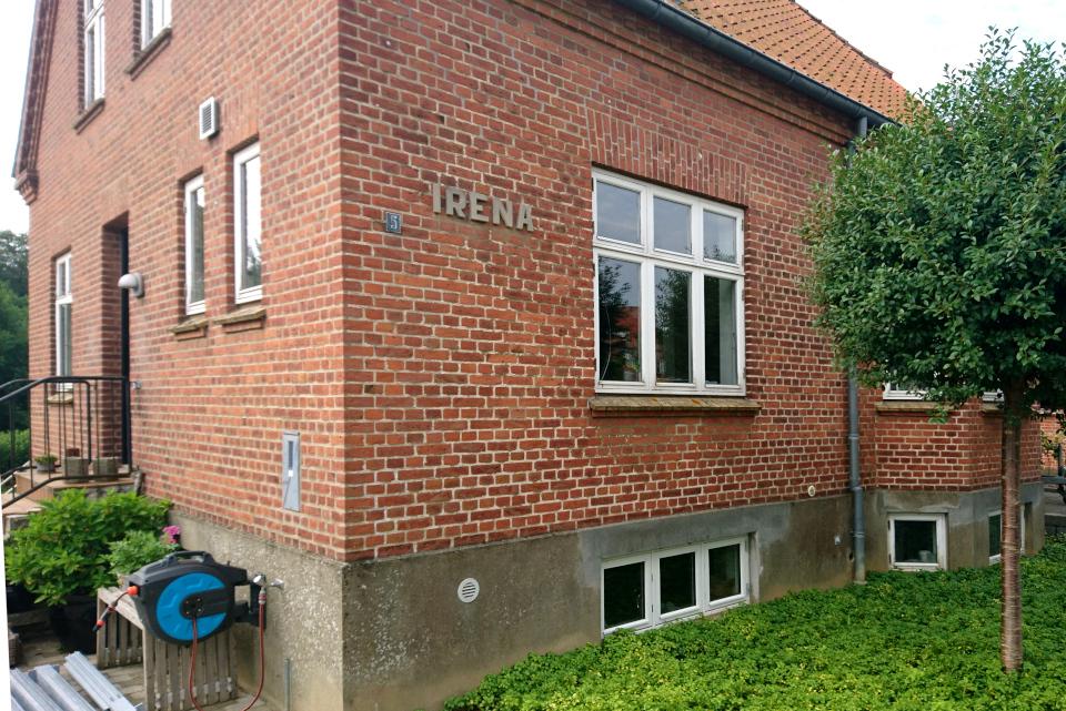 Кирпичный дом под названием Ирина (дат. Irena), Дания