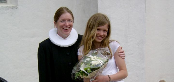 Конфирмация в Дании моей дочки