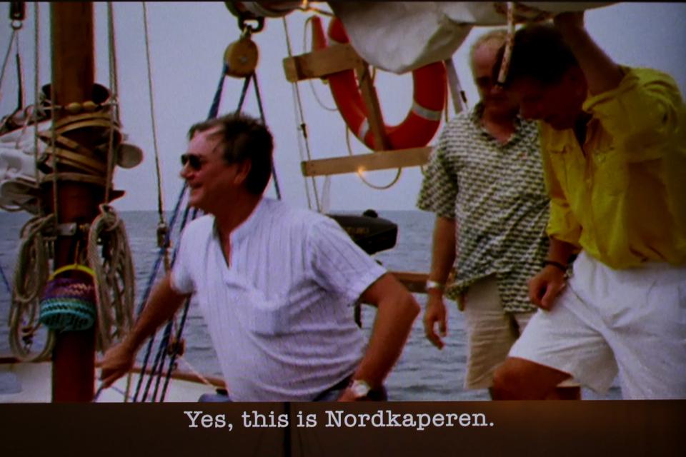 Принц Хенрик посетил корабль Nordkaperen