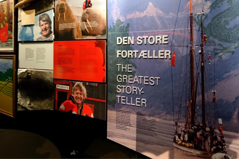Великий рассказчи Troels Kløvedal