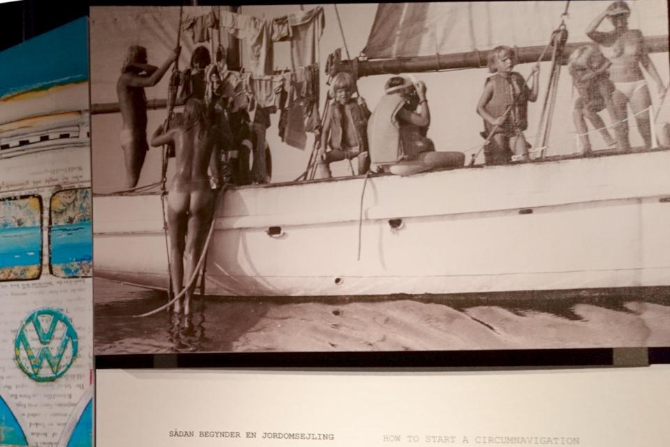 Команда корабля Nordkaperen во время первого кругосветного путешествия