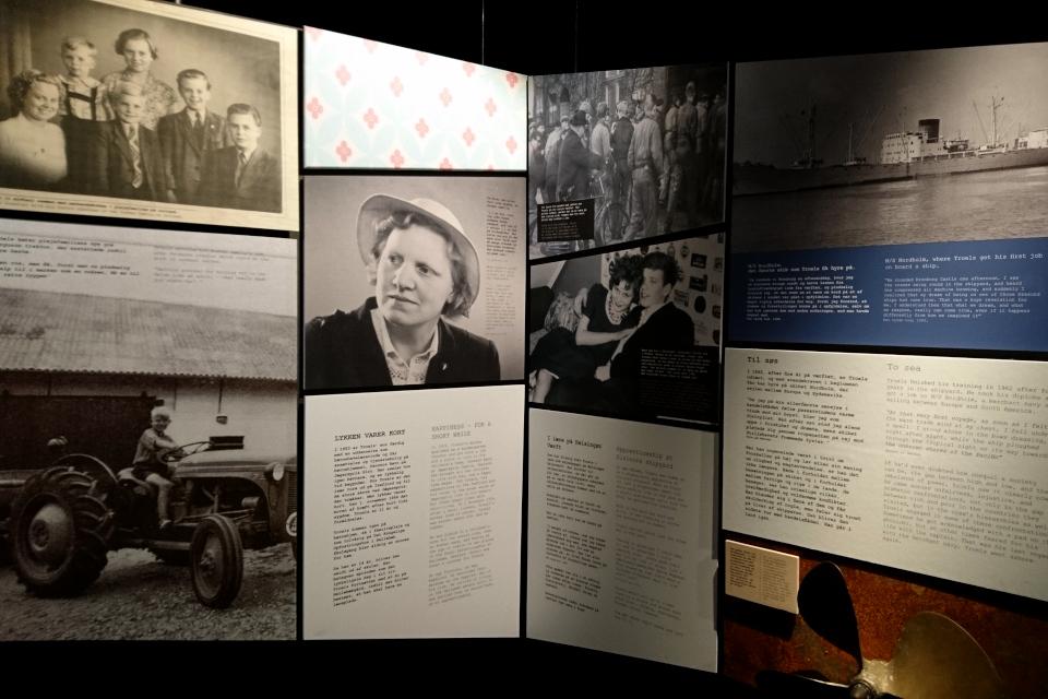 """Фотографии на выставке """"Троэльс Клёведал - мастерская свободы"""""""