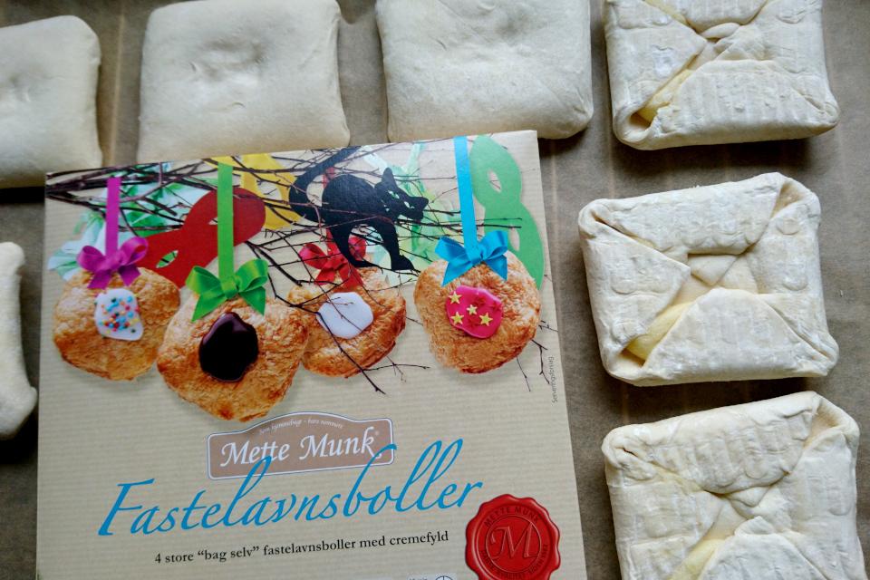 Масленичные булочки Фастелавнболле полуфабрика
