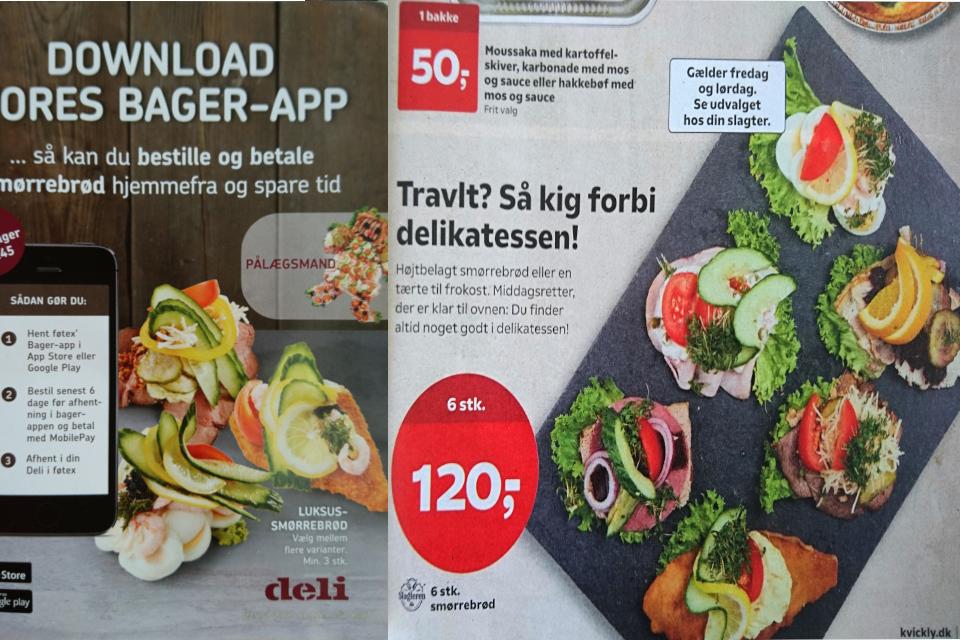Смёрребрёд - датский бутерброд smørrebrød