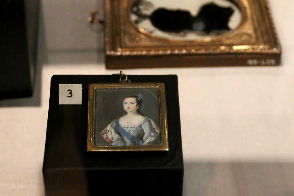 Миниатюра с портретом Анны Леопольдовны