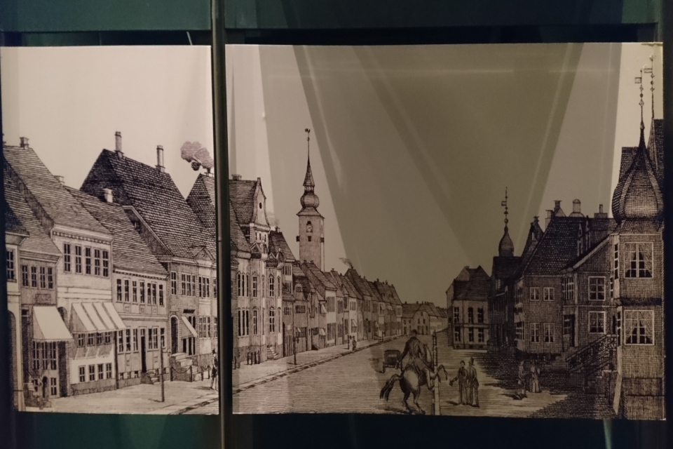 Хорсенс в начале 1800 годов
