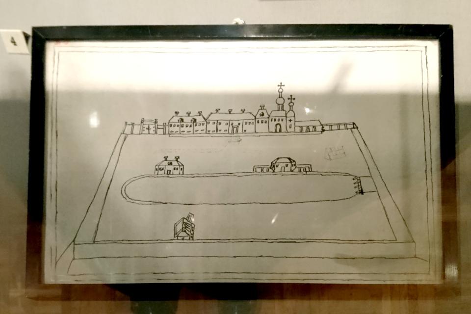 Холмогоры рисунок Екатерины, Брауншвейгское семейство