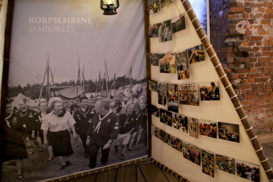 Фотографии, демонстрирующие участие Бенедикты в мероприятиях спайдеров
