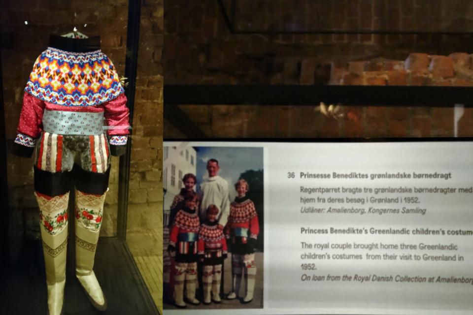 Традиционный гренландский костюм Бенедикты