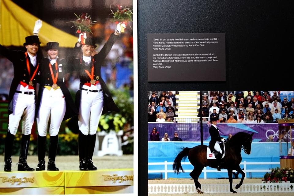 Дочь Бенедикты - принцесса Наталия на олимпийских играх в 2008 году