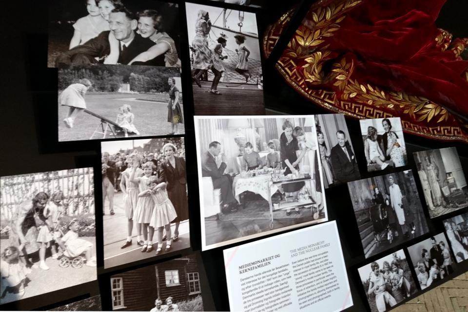 Фотографии семьи короля Фредерика 9, его жены королевы Ингрид и их дочек