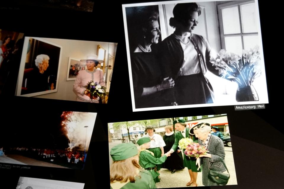 Фотографии Бенедикты и ее матери, королевы Ингрид