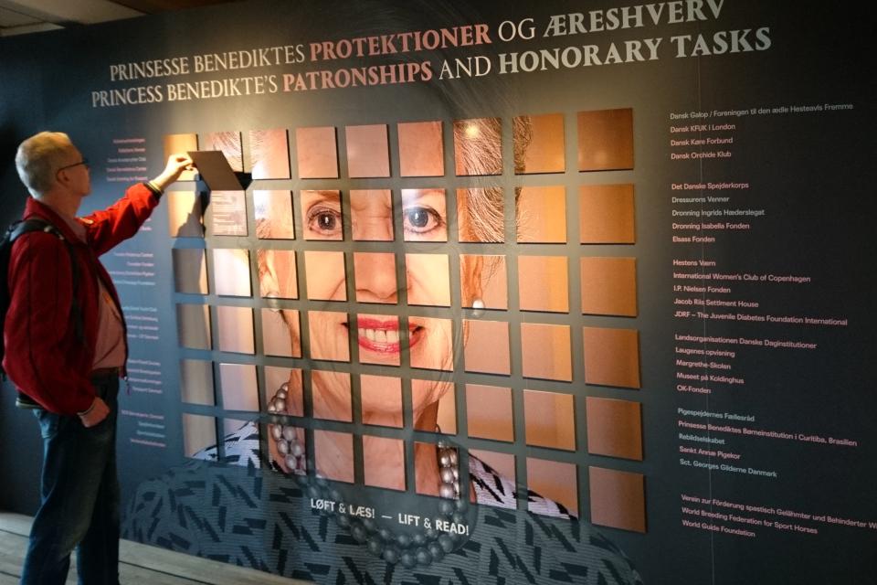 Выставка в Колдинхус, посвященной 75-летию датской принцессы Бенедикты