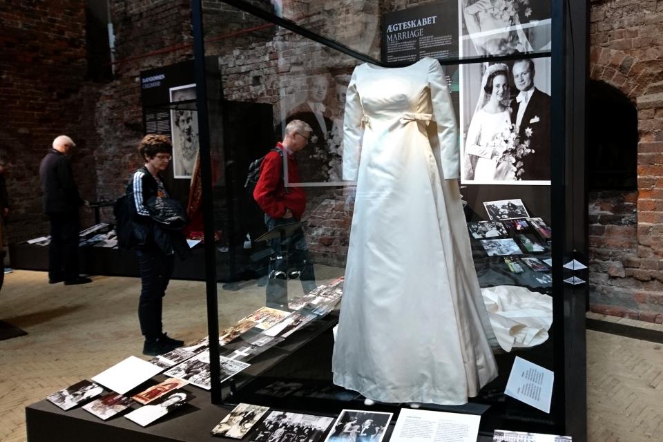 Свадебное платье датской принцессы Бенедикты