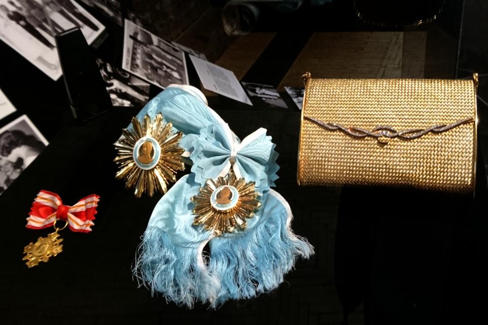 Крест Медаль, Орден Освободителя Сан-Мартина, золотая сумочка с бриллиантами